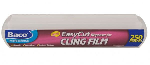 Bacofoil Easycut Catering Dispenser Clingfilm - 250m